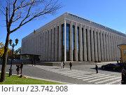 Государственный Кремлёвский дворец (2016 год). Редакционное фото, фотограф lana1501 / Фотобанк Лори