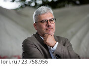 Купить «EDINBURGH, SCOTLAND, Thursday 25th, AUGUST 2016: Russian writer Eugene Vodolazkin appears at the Edinburgh International Book Festival. The two weeks event...», фото № 23758956, снято 25 августа 2016 г. (c) age Fotostock / Фотобанк Лори