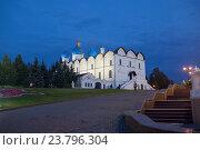 Купить «Благовещенский собор (XVI в.) Казанского Кремля.», фото № 23796304, снято 19 января 2019 г. (c) Igor Lijashkov / Фотобанк Лори