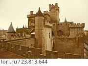 Palace of the Kings of Navarre at Olite (2016 год). Стоковое фото, фотограф Яков Филимонов / Фотобанк Лори