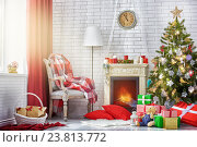 Купить «Christmas celebration», фото № 23813772, снято 21 сентября 2015 г. (c) Константин Юганов / Фотобанк Лори