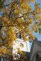 Часы на башне Кукольного театра. Кирха памяти королевы Луизы, эксклюзивное фото № 23820936, снято 16 октября 2016 г. (c) Svet / Фотобанк Лори