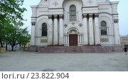 Купить «St. Michael Archangel's Church, Kaunas, Lithuania», видеоролик № 23822904, снято 30 сентября 2016 г. (c) BestPhotoStudio / Фотобанк Лори
