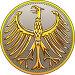 Деньги Германии. Золотая монета с геральдическим орлом, иллюстрация № 23840556 (c) Коваленкова Ольга / Фотобанк Лори