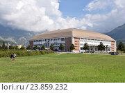 Дворец спорта в Баре, Черногория (2016 год). Редакционное фото, фотограф Окунев Александр Владимирович / Фотобанк Лори