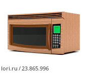 Купить «Image of the microwave on a white background», фото № 23865996, снято 6 февраля 2015 г. (c) easy Fotostock / Фотобанк Лори