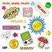 Элементы на тему старых компьютерных игр, иллюстрация № 23873020 (c) Dmitry Domashenko / Фотобанк Лори