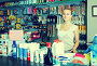 woman seller in housewares store, фото № 23888700, снято 22 октября 2016 г. (c) Яков Филимонов / Фотобанк Лори