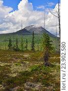Гора Сундук на плато Путорана. Стоковое фото, фотограф Сергей Дрозд / Фотобанк Лори