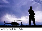 Купить «Soldiers», фото № 23921276, снято 20 июля 2014 г. (c) easy Fotostock / Фотобанк Лори