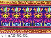 Купить «Декоративный орнамент», эксклюзивное фото № 23992432, снято 16 июля 2016 г. (c) lana1501 / Фотобанк Лори