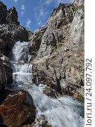 Купить «Горная река на Камчатке», фото № 24097792, снято 20 августа 2014 г. (c) А. А. Пирагис / Фотобанк Лори