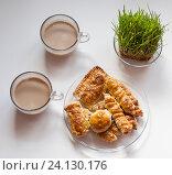 Кофе затрак. Стоковое фото, фотограф Егорова Евгения / Фотобанк Лори