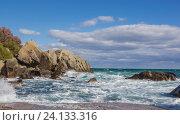 Море и скалы. Стоковое фото, фотограф Татьяна Назмутдинова / Фотобанк Лори