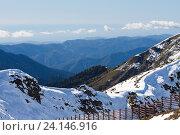 Купить «Вид на горы», фото № 24146916, снято 1 октября 2016 г. (c) Виталий Батанов / Фотобанк Лори