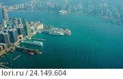 Гонконг, timelapse (2016 год). Редакционное видео, видеограф Михаил Коханчиков / Фотобанк Лори