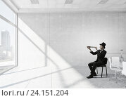 Купить «Searching for new perspectives . Mixed media», фото № 24151204, снято 13 июля 2020 г. (c) Sergey Nivens / Фотобанк Лори