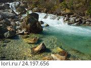Купить «Река весной», фото № 24197656, снято 3 мая 2016 г. (c) александр жарников / Фотобанк Лори