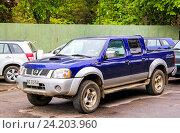 Купить «Nissan Terrano», фото № 24203960, снято 20 ноября 2015 г. (c) Art Konovalov / Фотобанк Лори