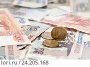 Деньги. Стоковое фото, фотограф Наталья Осипова / Фотобанк Лори