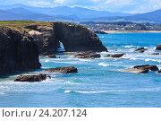 Купить «Summer Atlantic coast (Galicia).», фото № 24207124, снято 11 мая 2016 г. (c) Юрий Брыкайло / Фотобанк Лори