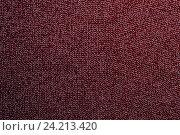 Купить «Красный вязаный фон», фото № 24213420, снято 18 октября 2016 г. (c) Pavel Biryukov / Фотобанк Лори