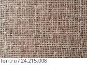 Мешковина. Стоковое фото, фотограф Андрей Черников / Фотобанк Лори