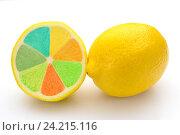 Лимоны. Стоковое фото, фотограф Андрей Черников / Фотобанк Лори