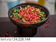 Купить «Кучмачи - традиционное грузинское блюдо из субпродуктов», фото № 24228144, снято 24 января 2016 г. (c) Ирина Мойсеева / Фотобанк Лори