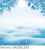 Купить «Яркий зимний фон», фото № 24252212, снято 30 января 2016 г. (c) Икан Леонид / Фотобанк Лори