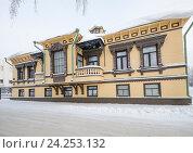Купить «Особняк Суркова в городе Архангельск», фото № 24253132, снято 24 января 2016 г. (c) Яковлев Сергей / Фотобанк Лори