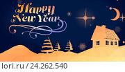 Купить «Christmas pattern», иллюстрация № 24262540 (c) Wavebreak Media / Фотобанк Лори