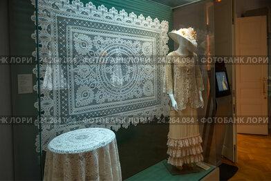 Экспозиция музея кружева. Вологда