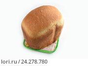 Купить «Свежеиспеченный хлеб», эксклюзивное фото № 24278780, снято 27 ноября 2016 г. (c) Юрий Морозов / Фотобанк Лори