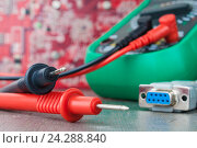 Setup, repair of electronic equipment. Develop or hobby-related electronics., фото № 24288840, снято 29 ноября 2016 г. (c) Александр Якимов / Фотобанк Лори
