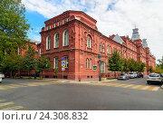 Купить «Правительство Астраханской области в Астрахани», фото № 24308832, снято 6 сентября 2016 г. (c) Elena Odareeva / Фотобанк Лори