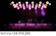 Купить «Профессиональное освещение на сцене», видеоролик № 24314260, снято 27 ноября 2016 г. (c) Игорь Усачев / Фотобанк Лори