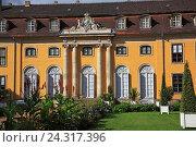 Купить «Germany, Saxony clue, guards King's cathedral Dessau-Wörlitz, Castle Mosigkau, UNESCO World Heritage», фото № 24317396, снято 7 сентября 2011 г. (c) mauritius images / Фотобанк Лори