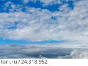 Облака на небе. Стоковое фото, фотограф Владимир Иванов / Фотобанк Лори