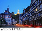 Купить «Germany, Hesse, dill castle», фото № 24319864, снято 8 сентября 2014 г. (c) mauritius images / Фотобанк Лори