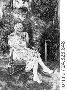 Купить «Alltagsszenen einer Stuttgarter Familie, Deutsches Reich 1930er Jahre. Scenes from everyday life of a family in Stuttgart, Germany 1930s», фото № 24323848, снято 19 июля 2018 г. (c) mauritius images / Фотобанк Лори