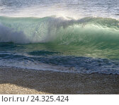 Купить «Sea, breaker water, wave, surf, nature, element, force, power, elemental force, nature power, spectacle nature, foam, water measures, coast, beach, destination, impact, incredibly, immensely», фото № 24325424, снято 11 мая 2005 г. (c) mauritius images / Фотобанк Лори