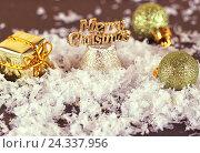 Рождественские украшения. Стоковое фото, фотограф Дегтярева Виктория / Фотобанк Лори