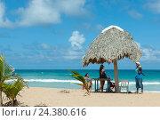 Купить «The Dominican Republic, the east, Punta Cana, Macao, beach of Macao», фото № 24380616, снято 16 августа 2018 г. (c) mauritius images / Фотобанк Лори