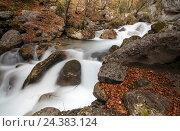 Купить «Gorge in Austria», фото № 24383124, снято 16 августа 2018 г. (c) mauritius images / Фотобанк Лори