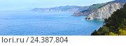 Купить «Atlantic Ocean coastline, Biscay Bay, Spain.», фото № 24387804, снято 19 сентября 2018 г. (c) Юрий Брыкайло / Фотобанк Лори