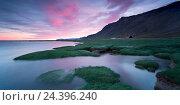 Купить «Iceland, Vestfirir, west fjords, Atlantic Ocean,», фото № 24396240, снято 28 мая 2018 г. (c) mauritius images / Фотобанк Лори