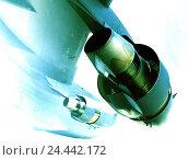 Купить «Military aircraft, Boeing C-17A, Globemaster III, flight, US-Airforce, detail, blur, aviation, air force, fighter aircraft, military transporter, transport plane, USAF, airplane, fly, the military,», фото № 24442172, снято 11 октября 2005 г. (c) mauritius images / Фотобанк Лори