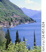 Купить «Italy, Lombardy, Lake Como, Varenna, local view, spring, Europe, Northern Italy, mountain landscape, mountains, mountains, Lago Tu Como, prealpine lake...», фото № 24451824, снято 24 октября 2005 г. (c) mauritius images / Фотобанк Лори