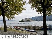 Купить «Italy, Lago Maggiore, Isola Dei Pescatori, view at Isola Bella, palace,», фото № 24507908, снято 24 ноября 2009 г. (c) mauritius images / Фотобанк Лори